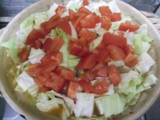 トマト鍋 016