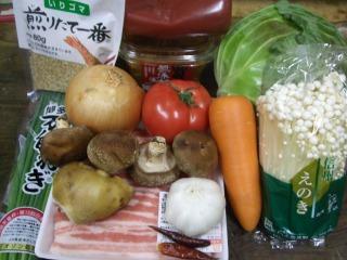 トマト鍋 010